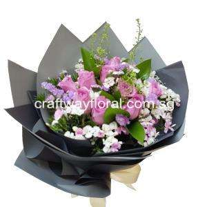 As its name implies, this bouquet is an intricate art, crafted extremely subtle and rendered in exquisite detail.