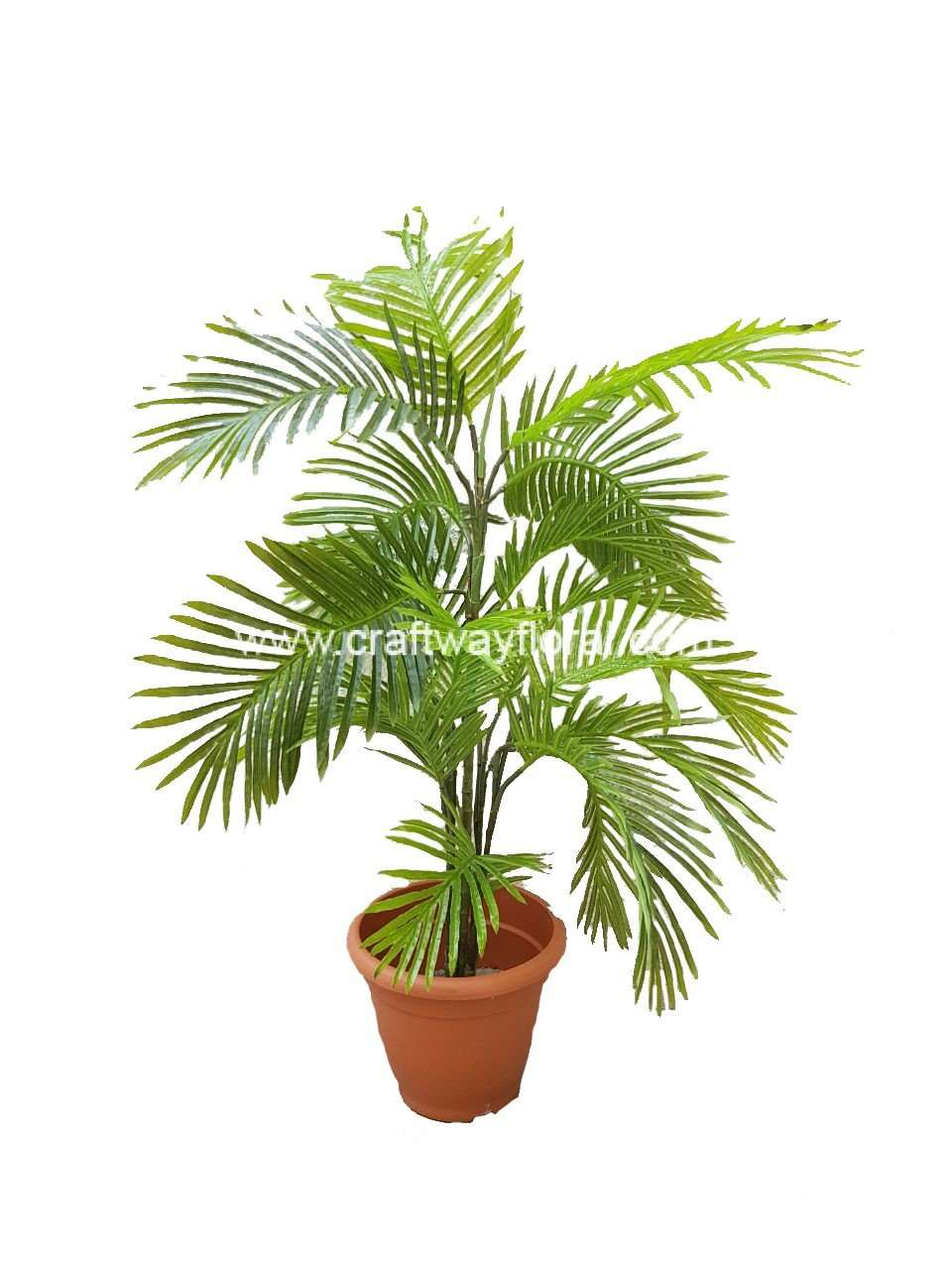 artificial yellow palm ~4 feet - craftway floral & gifts