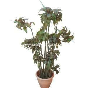 Artificial Brown Dracaena Reflexa ~4 Feet