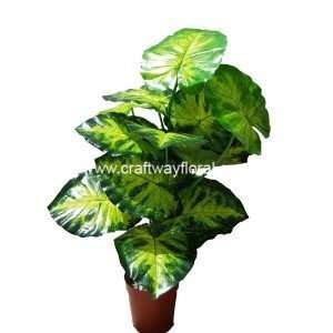Artificial Caladium ~2 Feet