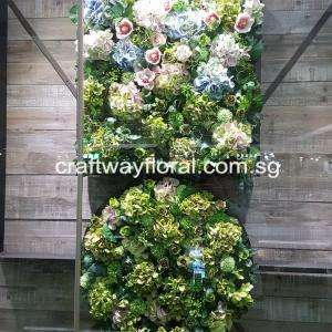 2-Tier Green Wall Decor