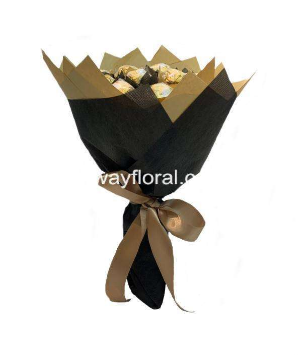 Ferrero Rocher Bouquet Vertical View