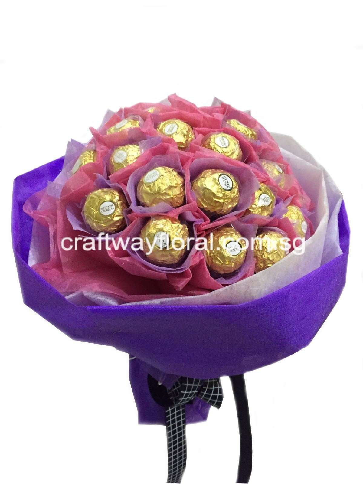 Ferrero Rocher Bouquet - Craftway Floral & Gifts