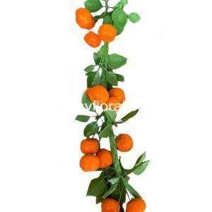 Artificial Orange strings, party decoration, photo prop, kitchen decorations, housewarming decoration.