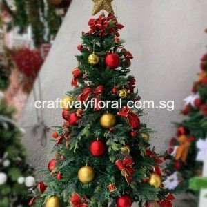 The Artificial Cypress Christmas Tree is a heartwarming addition to your home this Christmas season.