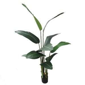 Artificial High-Quality Realistic Bird of Paradise Plant ~5 Feet